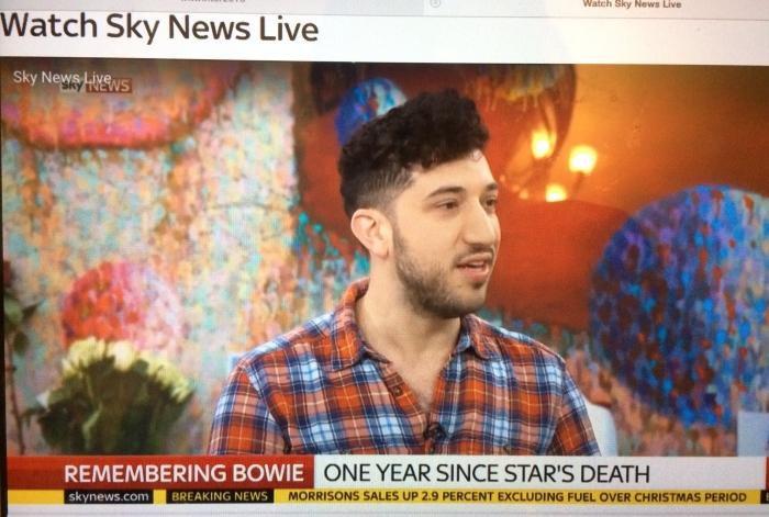 Nick Stephenson Music on Sky News